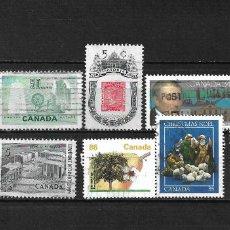 Sellos: CANADA LOTE SELLOS USADOS - 20/17. Lote 199638501