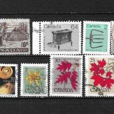 Sellos: CANADA LOTE SELLOS USADOS - 20/17. Lote 199638588