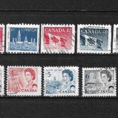 Sellos: CANADA LOTE SELLOS USADOS - 20/18. Lote 199638887