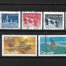 Sellos: CANADA LOTE SELLOS USADOS - 20/18. Lote 199638942