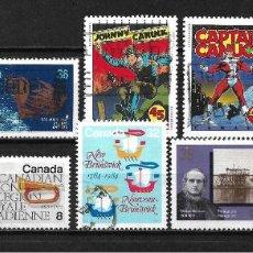 Sellos: CANADA LOTE SELLOS USADOS - 20/18. Lote 199639060