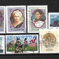 Sellos: CANADA LOTE SELLOS USADOS - 20/18. Lote 199639166