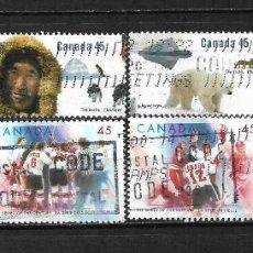 Sellos: CANADA LOTE SELLOS USADOS - 20/18. Lote 199639205