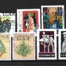 Sellos: CANADA LOTE SELLOS USADOS - 20/18. Lote 199639293