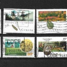 Sellos: CANADA LOTE SELLOS USADOS - 20/18. Lote 199639323