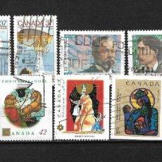 Sellos: CANADA LOTE SELLOS USADOS - 20/18. Lote 199639371
