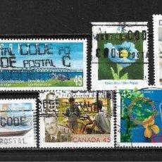 Sellos: CANADA LOTE SELLOS USADOS - 20/18. Lote 199639393