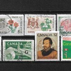 Sellos: CANADA LOTE SELLOS USADOS - 20/18. Lote 199639461
