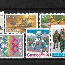 Sellos: CANADA LOTE SELLOS USADOS - 20/18. Lote 199639487