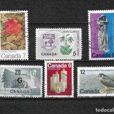 Sellos: CANADA LOTE SELLOS USADOS - 20/18. Lote 199639513
