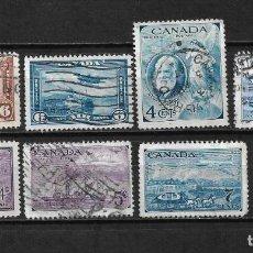 Sellos: CANADA LOTE SELLOS USADOS - 20/18. Lote 199639541