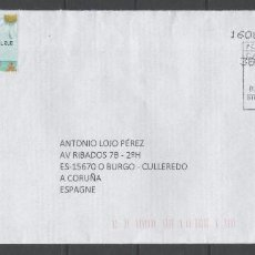 Francobolli: SOBRE CIRCULADO DE CANADÁ A ESPAÑA -AÑO DEL MONO-, AÑO 2016. Lote 202444173