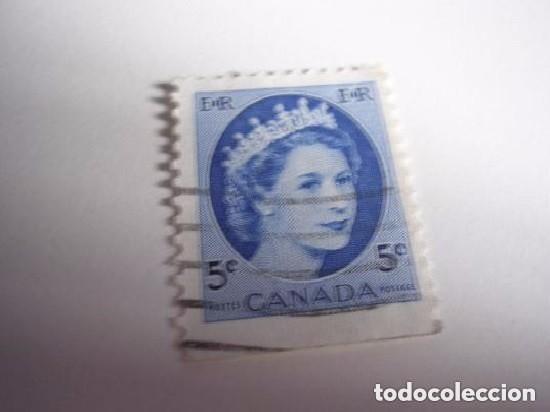 CANADA SELLO BÁSICO REINA (Sellos - Extranjero - América - Canadá)
