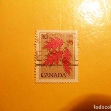 Sellos: CANADA - ARBOLES - HOJA DE LA BELLOTA.. Lote 205582565