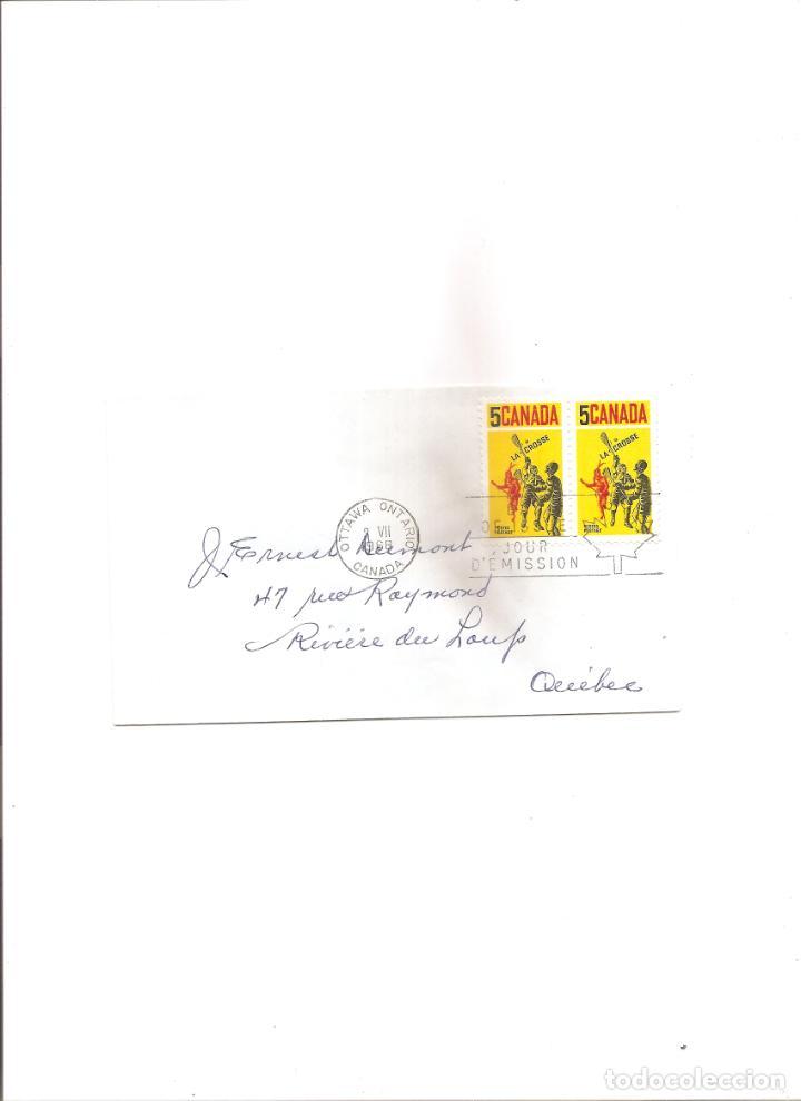 2141. CANADA. 3.7.1968. LA CROSSE (Sellos - Extranjero - América - Canadá)