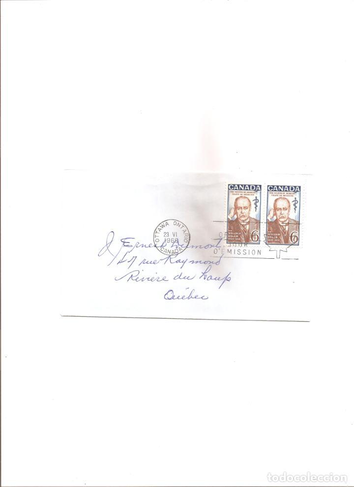 2251. CANADA. SIR WILLIAM OSLER (23.6.1968) (Sellos - Extranjero - América - Canadá)