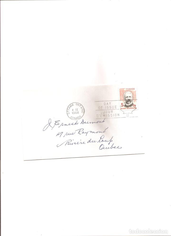 2255. CANADA. HENRI BOURASSA (4.9.1968) (Sellos - Extranjero - América - Canadá)