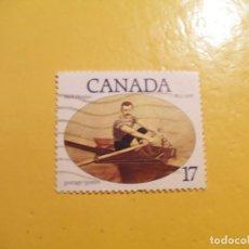 Sellos: CANADA - DEPORTES - PIRAGÜISMO - REMO - NED HANLAN.. Lote 206820606