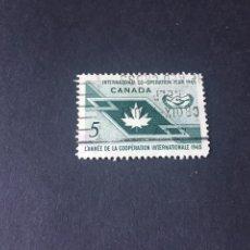 Sellos: SELLO CANADA USADO EL DE LA FOTO. VER TODOS MIS SELLOS NUEVOS Y USADOS. Lote 208841727