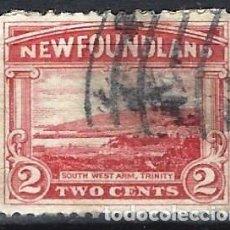Selos: TERRANOVA / NEWFOUNDLAND 1923 - SOUTH WEST ARM. TRINIDAD - SELLO USADO. Lote 209362501