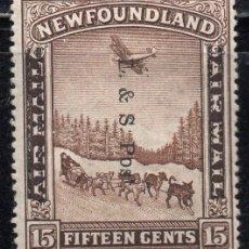 Sellos: NEWFOUNDLAND/1933/MH/SC#211/L & S. SOBRE IMPRESO. Lote 215503592