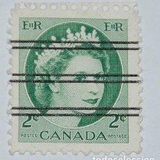 Sellos: SELLO CANADA 1954 REINA ELIZABETH II PRECANCELADO. Lote 216629140
