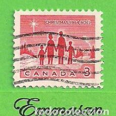 Sellos: CANADÁ - MICHEL 379AX - YVERT 359 - NAVIDAD. (1964).. Lote 217987458