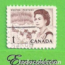 Sellos: CANADÁ - MICHEL 398AX - YVERT 378 - CENTENARIO DE CANADÁ E ISABEL II. (1967).. Lote 218006492