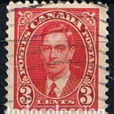 Sellos: CANADA 1937 REY JORGE VI SELLO ANTIGUO USADO. Lote 218267732