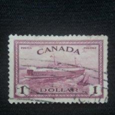 Sellos: CANADA, 1 DOLLAR, AÑO 1950. Lote 219642167