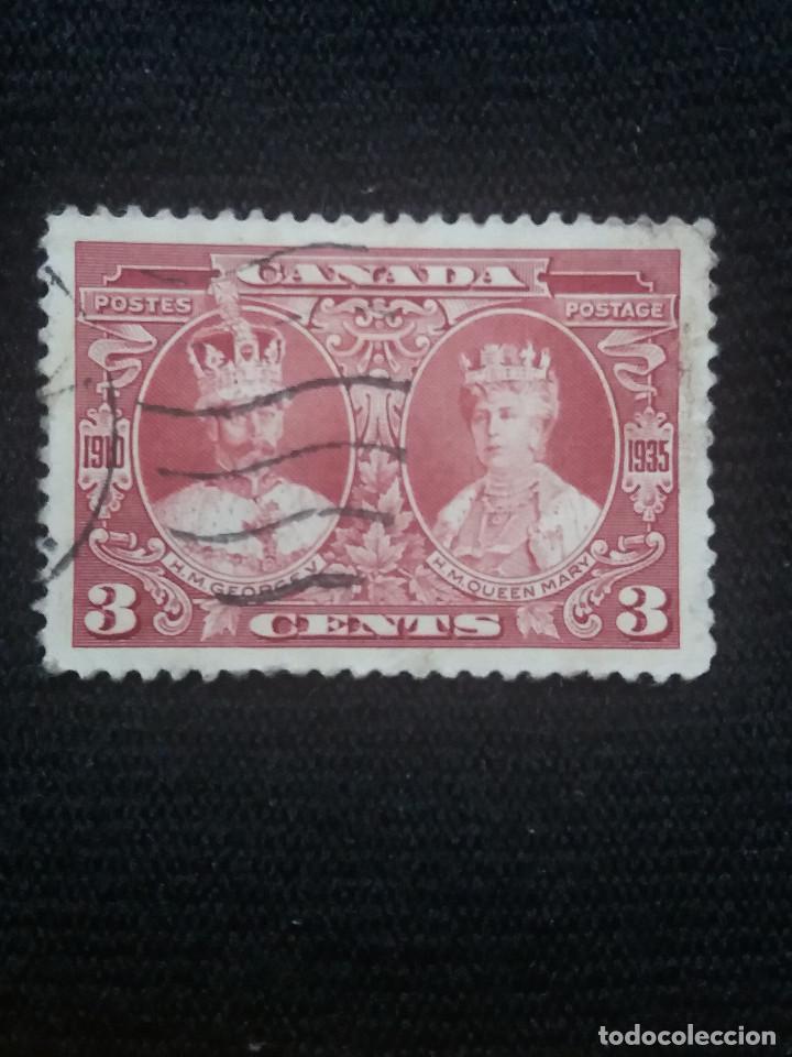 CANADA, 3 CENTS, REY GEORGE V. Y REINA MARY, AÑO 1935. (Sellos - Extranjero - América - Canadá)