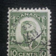 Sellos: CANADA, 10 CENTS, CARTIER, AÑO 1910.. Lote 219643662