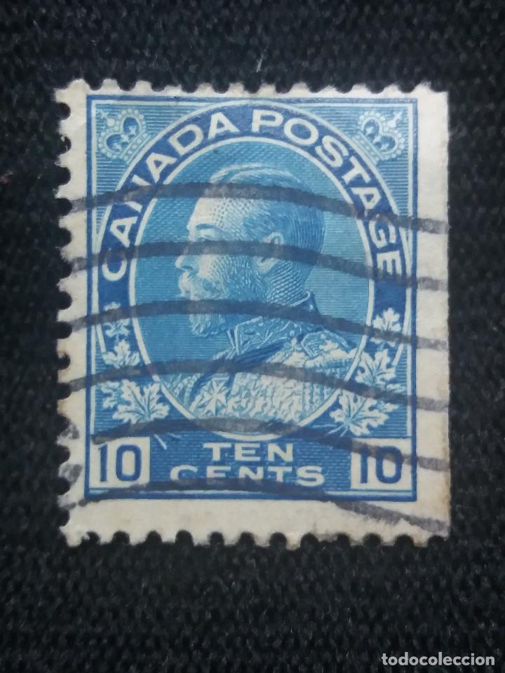 CANADA, 10 CENTS, GEORGE V, AÑO 1912. (Sellos - Extranjero - América - Canadá)