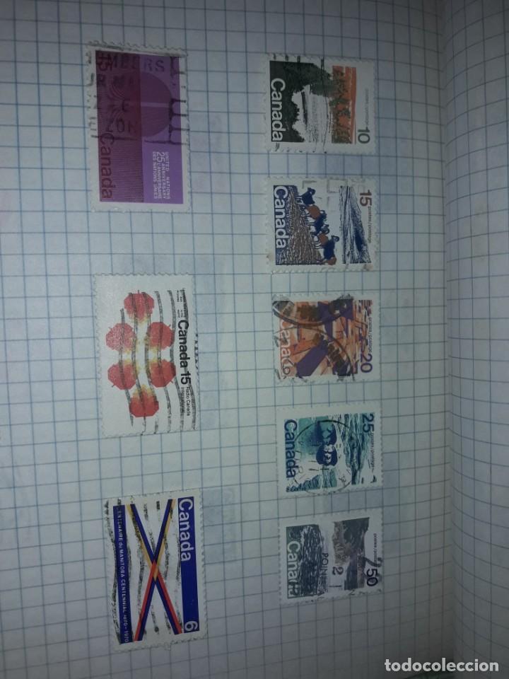 Sellos: Excepcional gran lote de 384 antiguos sellos de Canadá usados - Foto 42 - 219723630
