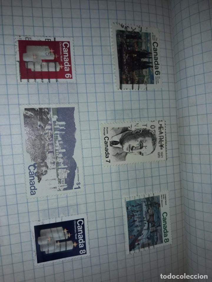 Sellos: Excepcional gran lote de 384 antiguos sellos de Canadá usados - Foto 45 - 219723630