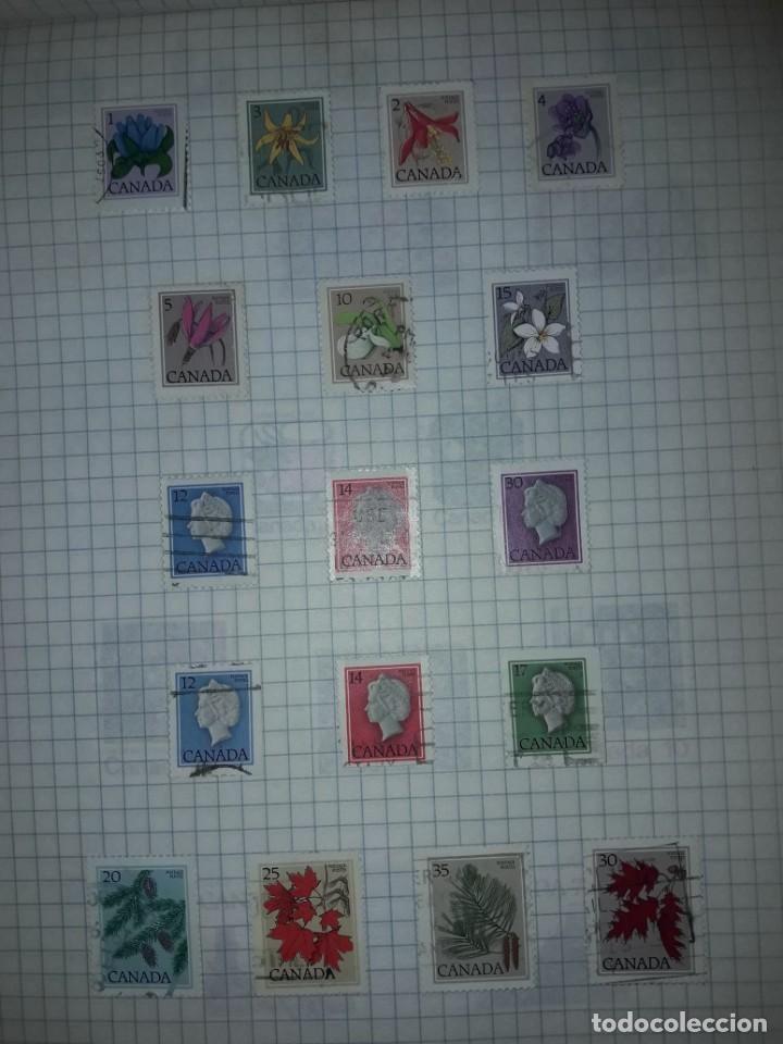 Sellos: Excepcional gran lote de 384 antiguos sellos de Canadá usados - Foto 47 - 219723630