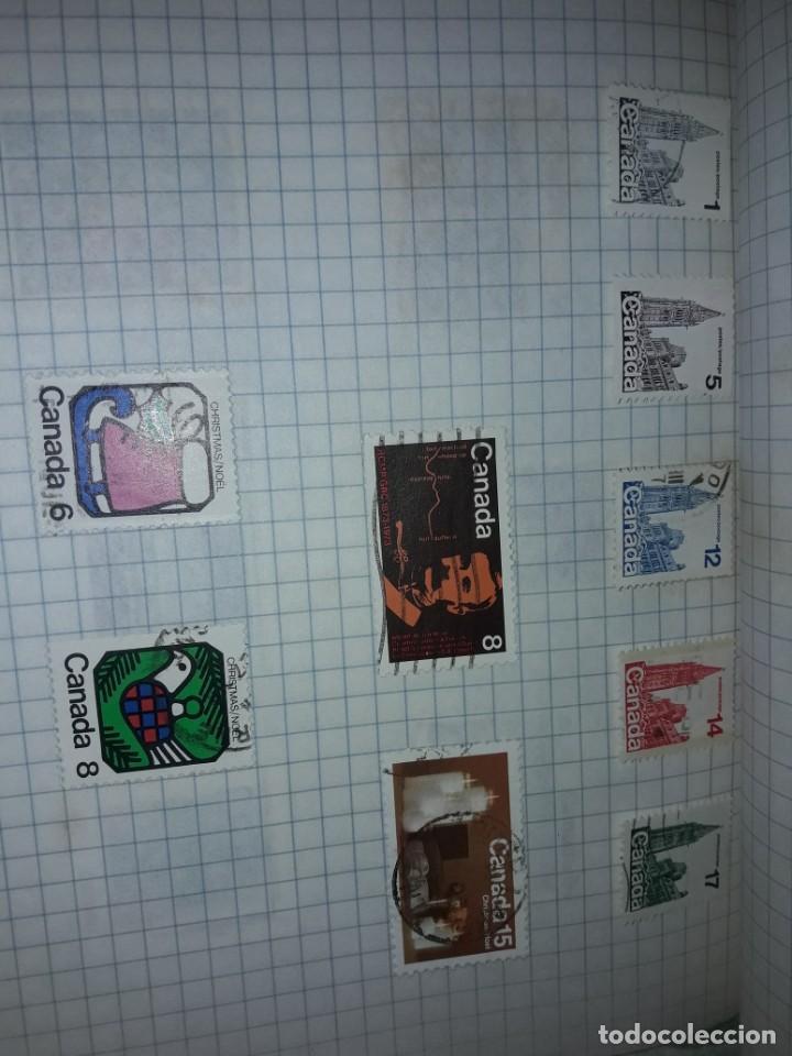 Sellos: Excepcional gran lote de 384 antiguos sellos de Canadá usados - Foto 51 - 219723630