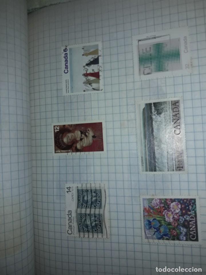Sellos: Excepcional gran lote de 384 antiguos sellos de Canadá usados - Foto 54 - 219723630
