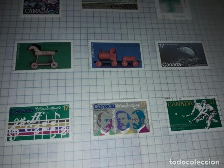 Sellos: Excepcional gran lote de 384 antiguos sellos de Canadá usados - Foto 55 - 219723630