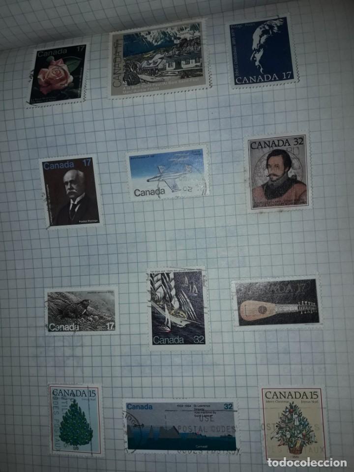 Sellos: Excepcional gran lote de 384 antiguos sellos de Canadá usados - Foto 60 - 219723630