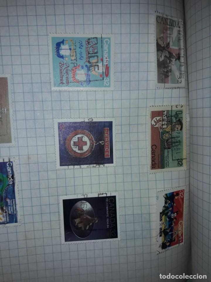 Sellos: Excepcional gran lote de 384 antiguos sellos de Canadá usados - Foto 62 - 219723630