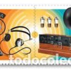 Sellos: SELLOS ADESIVOS USADOS SEPARADOS DE CANADA 2020, HISTORIA DE LA RADIO. Lote 220388592