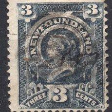 Sellos: NEWFOUNDLAND/1890/USED/SC#60/ REINA VICTORIA / REALEZA. Lote 220600610
