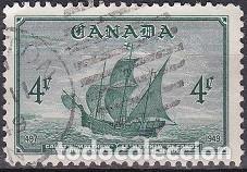 LOTE DE SELLOS - CANADA - BARCOS - VELEROS - (AHORRA EN PORTES, COMPRA MAS) (Sellos - Extranjero - América - Canadá)