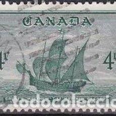 Sellos: LOTE DE SELLOS - CANADA - BARCOS - VELEROS - (AHORRA EN PORTES, COMPRA MAS). Lote 221417173