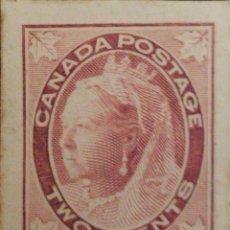 Sellos: O) 1897 CANADA, PRUEBA DE DADO , REINA VICTORIA SCOTT 68 2C. XF. Lote 222287246