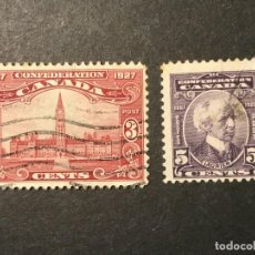 Sellos: CANADÁ 1927. Lote 226697660