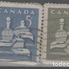 Sellos: LOTE (18) SELLOS CANADA. Lote 234906090