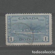 Selos: LOTE (18) SELLO CANADA ALTO VALOR BUQUE GUERRA MILITAR. Lote 234908340