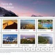 Sellos: HB** DE CANADA 2020, LUGARES. Lote 236559760